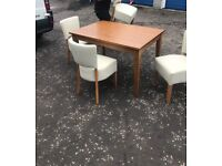 Solid wood dining table £220 ono
