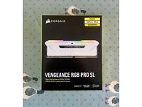 Corsair Vengeance RGB PRO SL White 32GB 3600MHz DDR4 Memory Kit