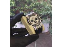 Gold silver audemars piguet diamonds iced out not Rolex Cartier hublot watch