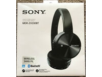 Sony MDR-ZX330BT Bluetooth Wireless Headphones - Boxed