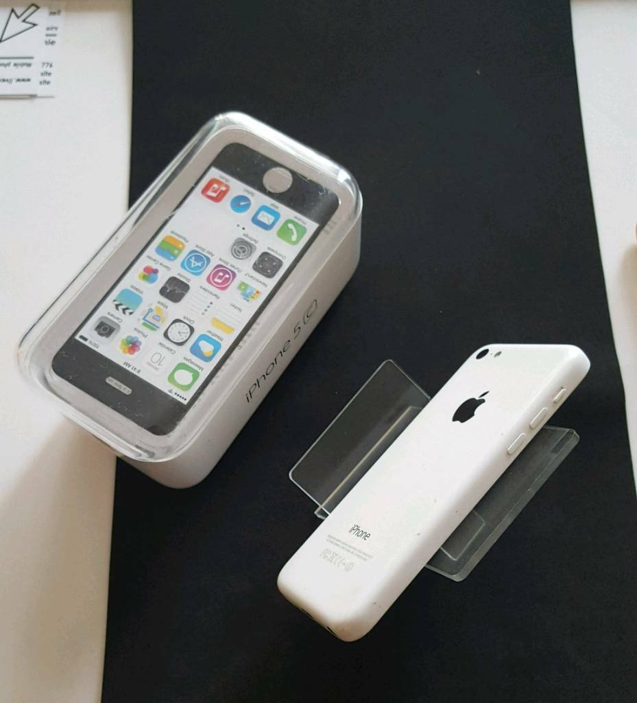 Apple iphone 5c unlocked plus Apple earphones
