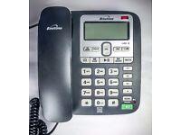 Binatone Acura 3000 Corded Phone with Answer Machine nearly new condition in original box