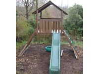 Childrens play frame/fort - Creative Playthings Manchester Tower - used
