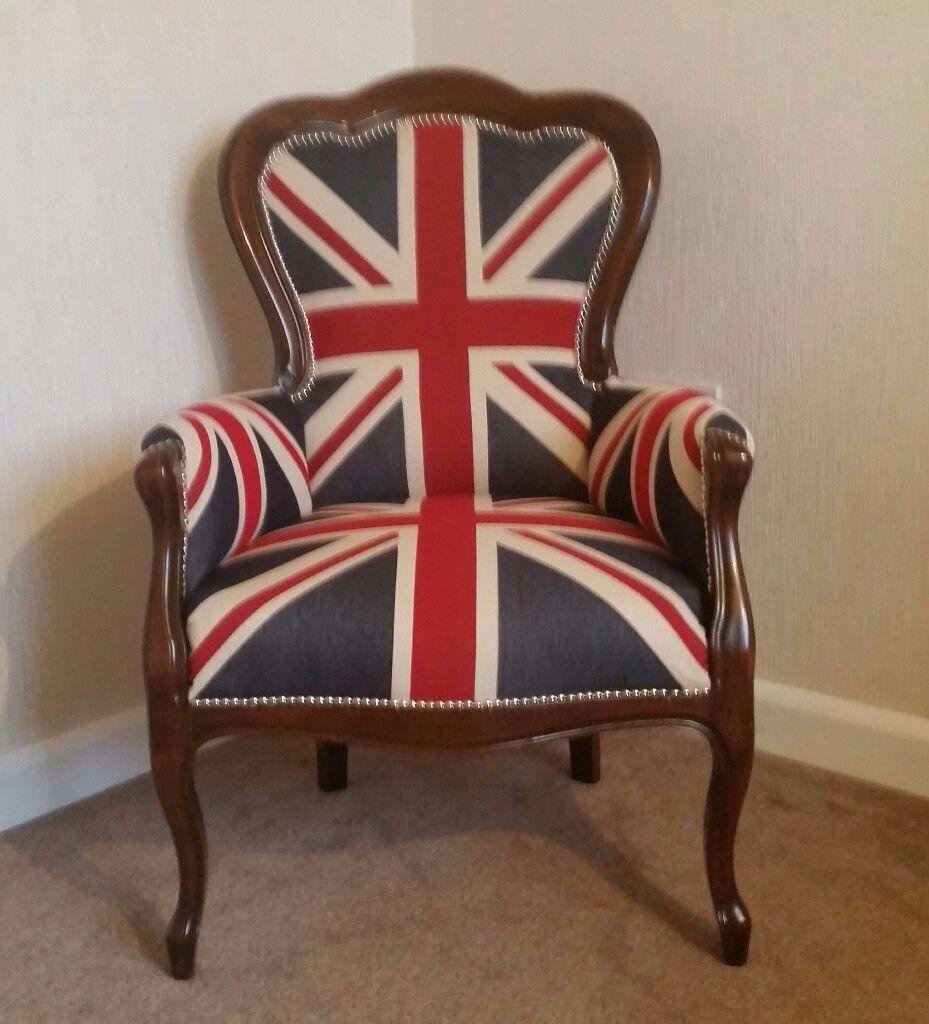 Unionjack armchair. Armchair .