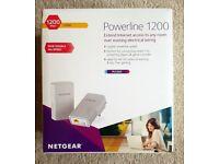 Netgear Powerline Ethernet Network - PL1200 - set of 2, slightly used - 1200Mbps