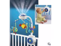 Fisher-Price Ocean Wonders Cot Mobile with Remote