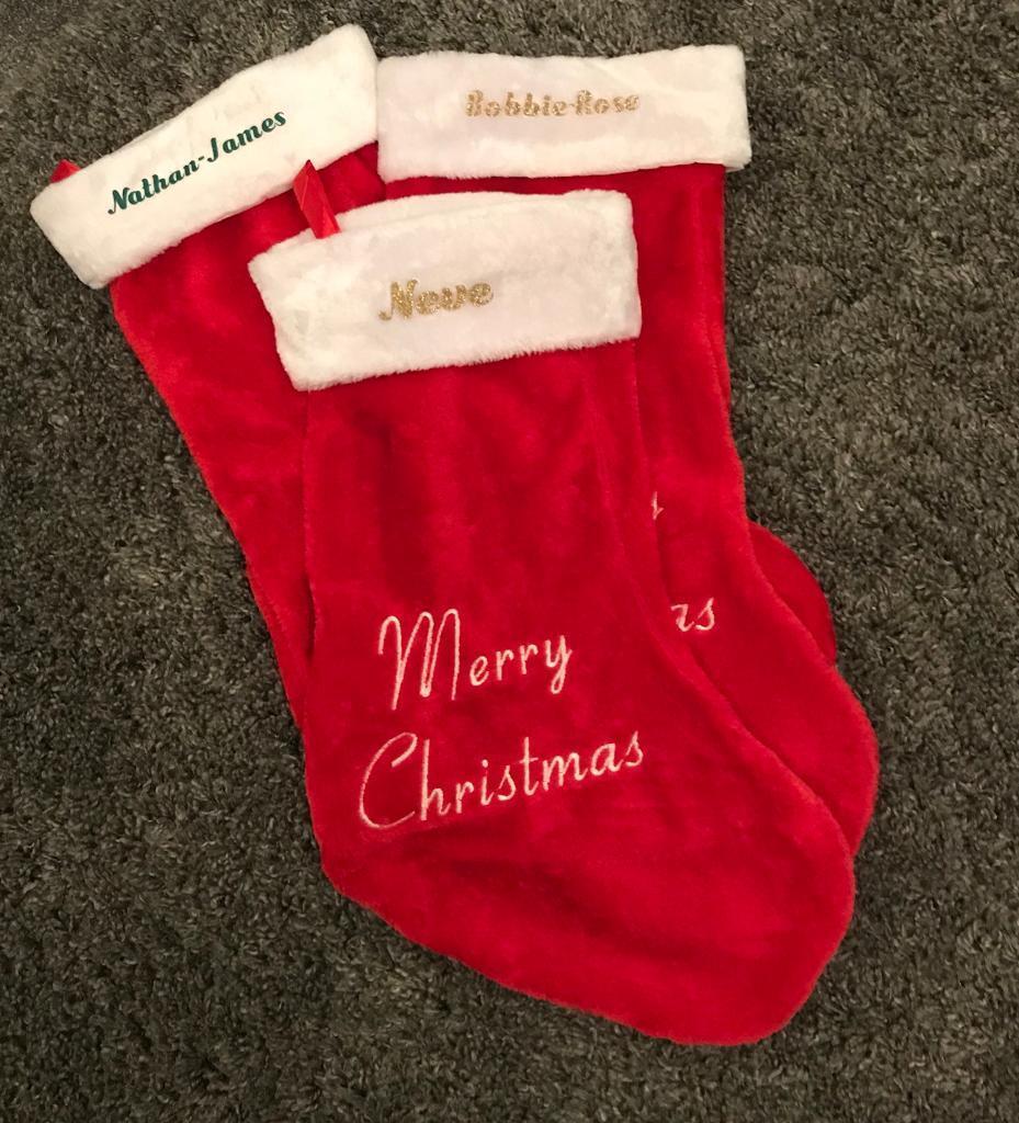 personalised large xmas stocking - Large Christmas Stocking