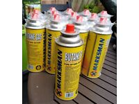 Job Lot - 15 x Small Butane Cans Brand New
