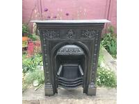 Antique Victorian Fireplace C1880 (Cast Iron)