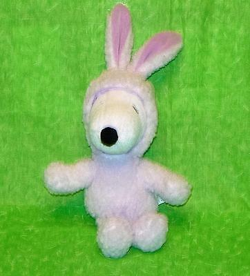 Animals In A Suit (SNOOPY in a PURPLE BUNNY SUIT Plush Stuffed Animal 10