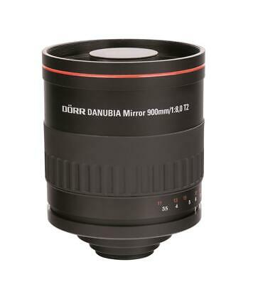 Dörr Danubia Spiegel Teleobjektiv 900mm 8,0 T2 Sony Alpha 37,58,65,77,A100, A200
