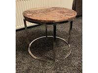 Espresso Lamp Table