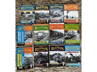 British railway illustrated magazines 2000 complete year