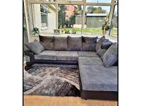 BUMPER SALE on Dino Jumbo Cord, Large Corner Sofa, Large 3+2 Seater Sofa Set