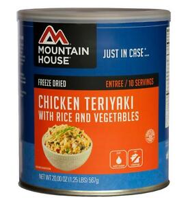 Mountain House - Chicken Teriyaki with Rice - #10 Can