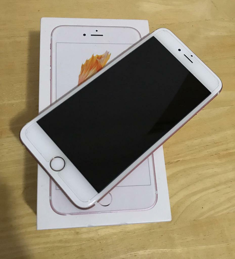 iPhone 6S Plus Rose Goldin Leith, EdinburghGumtree - IPhone 6s Plus 64gb Rose Gold, Unlocked to all network, Immaculate condition, Comes with box and all original accessories. Only used for a few months. No scratches or dents. Just like new