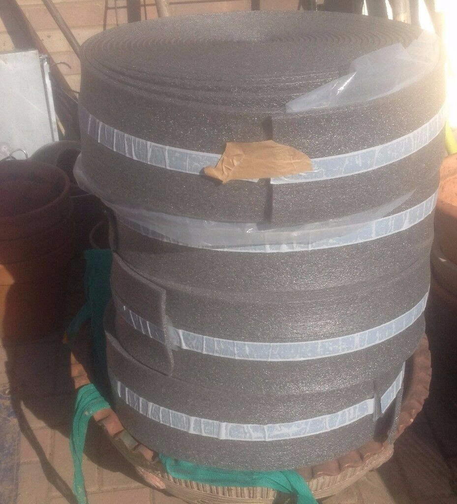 4x Underfloor edge insulation strip for perimeter, £60 joblot
