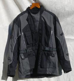 Motorcycle Jacket, Waterproof, Vented & Thermal, inc Armour. New & Unused!