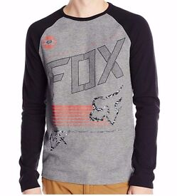 Fox Racing Thrill Long Sleeve Thermal Tee, size L, FREE delivery!