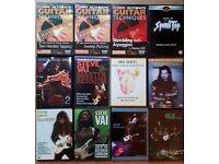 Job Lot: Guitar Books, DVDs, CDs, Magazines...