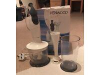 Kenwood wizzard and kenwood smoothie junior