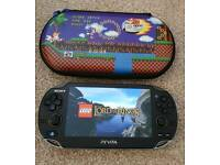 Sony PS Vita with 4 Lego games & Need For Speed, 8gb mem card, case & charger. In good condition.