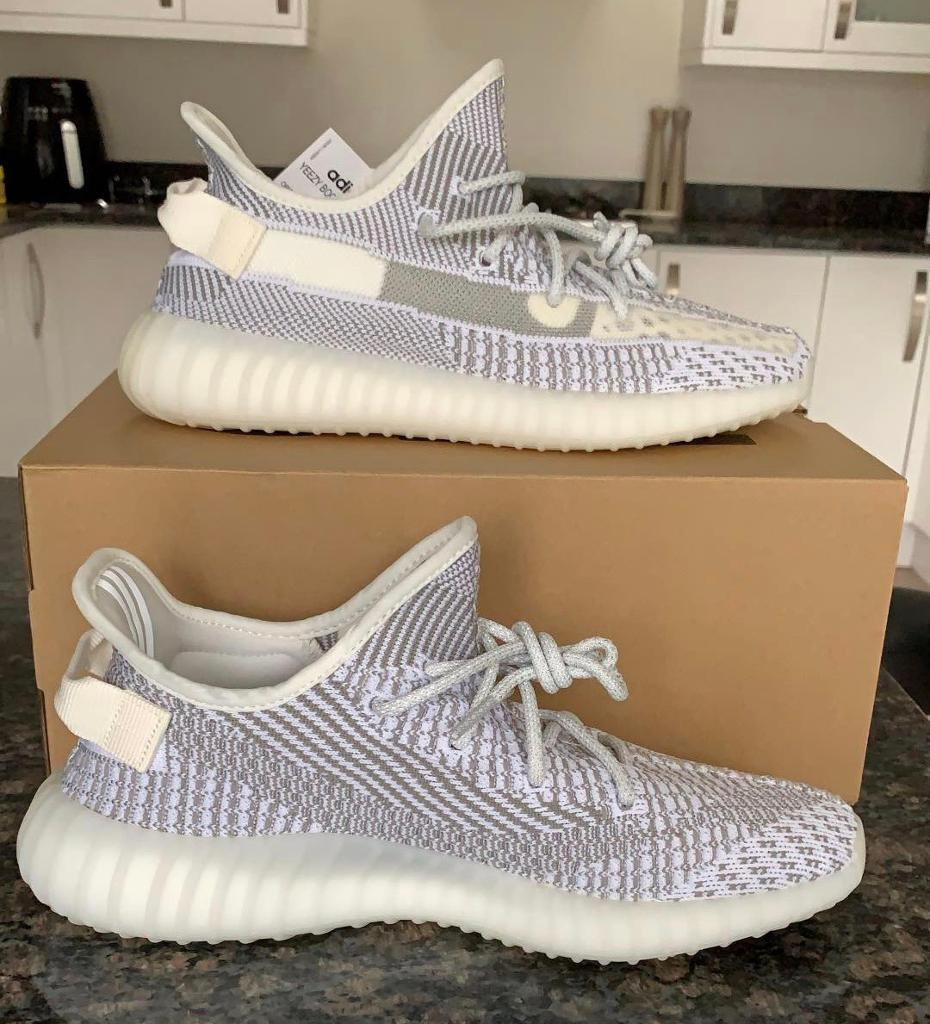 7795932014682 Adidas Yeezy Boost 350 V2 Static Non Reflective UK 9