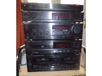 Technics Hi fi Separates. Amplifier, Twin cassette, etc see description