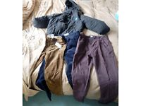 Older boys winter clothing bundle, including Billabong coat!