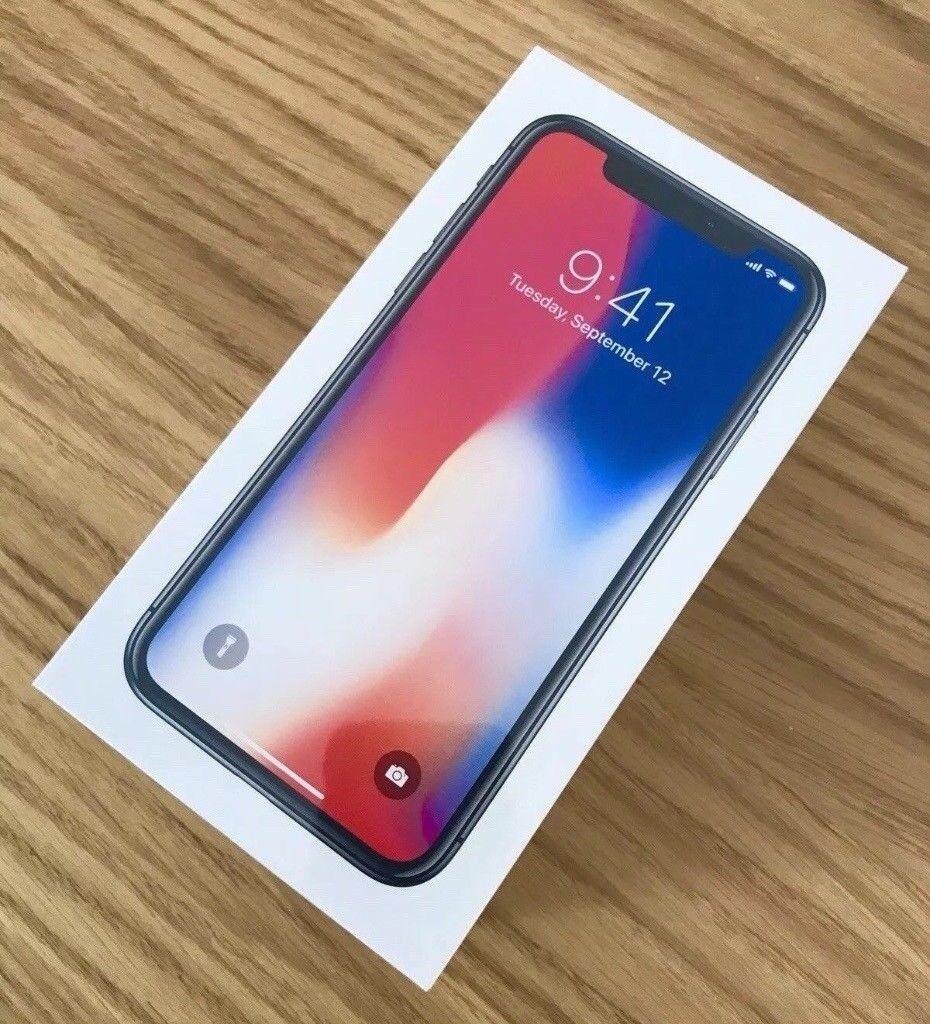 Brand New iPhone X 10 Unlocked 64GB Space Grey