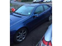 2006 Mercedes c220 coupe - Full Mot leather interior & new tyres