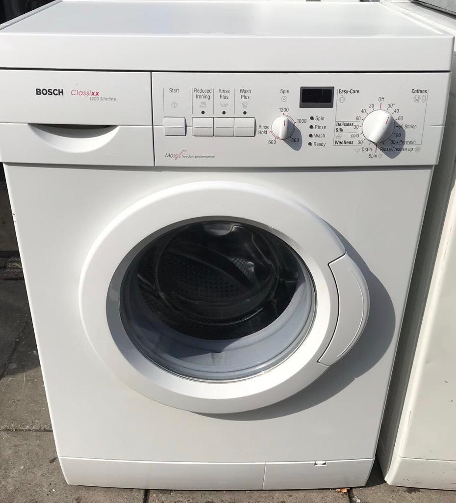 BOSCH Classixx 7kg washing machine 1200 spin100 good conditionin Redbridge,  London - BOSCH Classixx 7kg