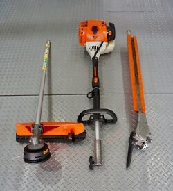 Stihl Kombi KM90R Engine Unit with attachments