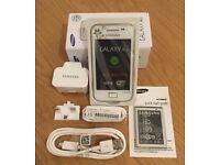 Samsung Galaxy Ace La Fleur Sim Free Unlocked White
