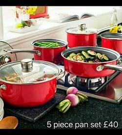 5 Piece Pan Set