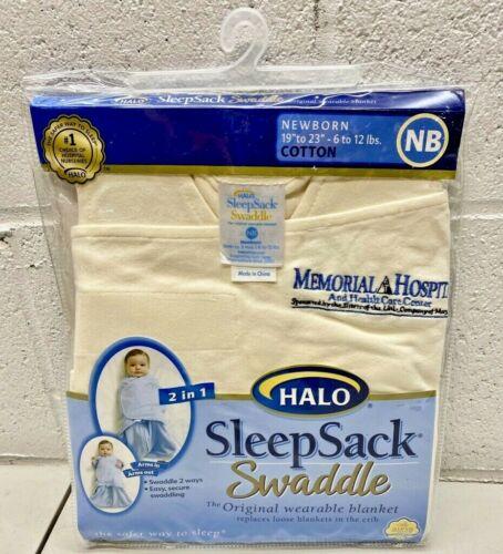 Halo Sleep Sack Swaddle Wearable Baby Blanket size; NB Newborn - BRAND NEW