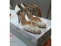 Rachel Simpson size 5 wedding shoes