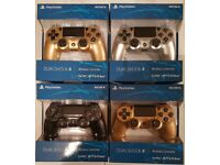 Sony PS4 Playstation 4 Controller Joypad Red Blue Black White Gold Silver New