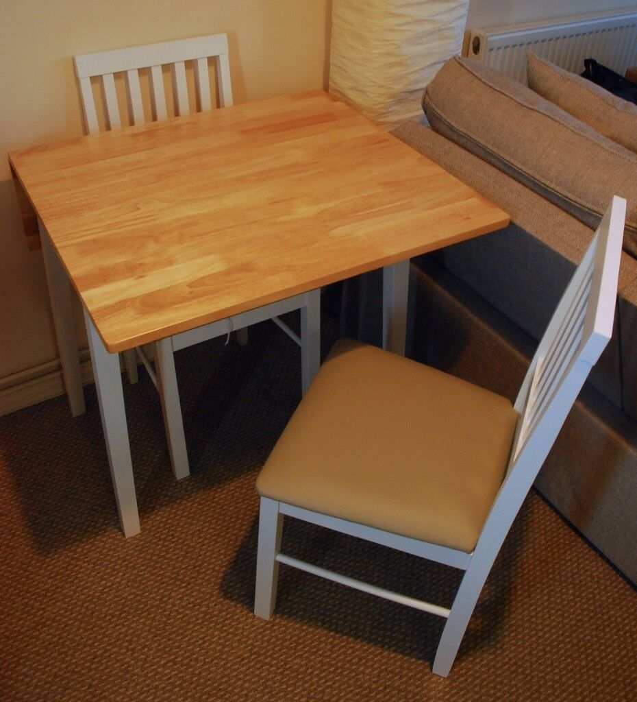 Extending Solid Wood Dining Table And 2 Chairs Two Tone Argos Kendall