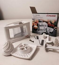 Cuisique Vegetable Spiralizer and Slicer 8 in 1 Amazon