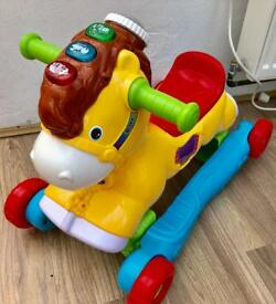 VTech rock and ride rocking horse