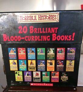 Horrible Histories set of 20 Blood-curdling Books