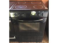 Bush ae66sca electric ceramic top cooker-3 months guarantee!