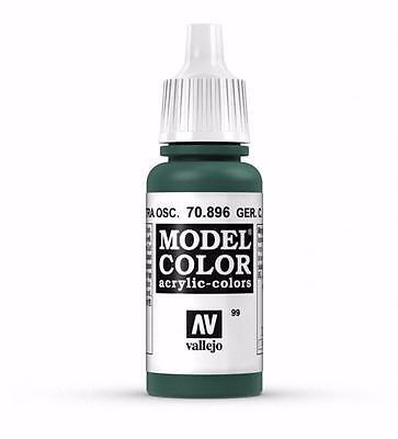 - Vallejo German Dark Green Paint Acrylic Colors 17ml VAL 70896