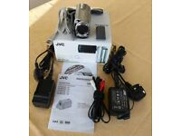 Camcorder. JVC Everio GZ-MG330 with accessories.