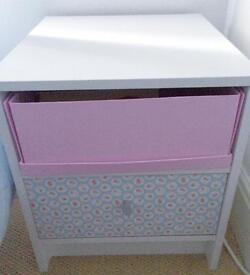 Shabby Chic Bedside unit- spotless condition