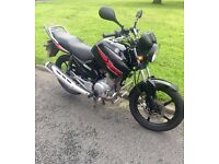 Yamaha YBR 123 ONLY 2500 MILES FROM NEW Lady Owner