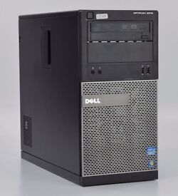 WINDOWS 7 DELL OPTIPLEX 3010 TOWER INTEL CORE i3 - PC COMPUTER - 4GB RAM - 500GB