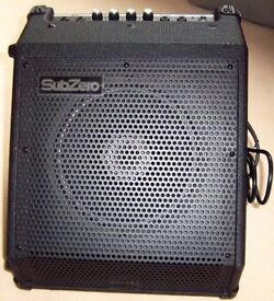 AMP FOR DRUM & KEYBOARD - SUBZERO DR-30 - 45 WATT - RRP £149.99 - NEW - NEVER BEEN USED