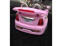 Pink Convertible bought from Argos with charger